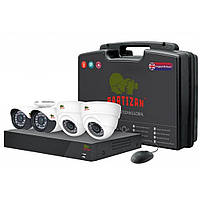 Комплект видеонаблюдения Partizan Mixed Kit 1MP 4xAHD (81083)