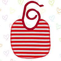 Слюнявчик для новорожденных многоразовый,на завязках.  Хлопок плотный. В наличии 20*20см