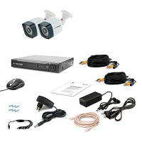 Комплект видеонаблюдения Tecsar 2OUT-3M LIGHT (9555)
