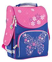 "Рюкзак школьный каркасный Flower butterfly 553326, ТМ ""Smart"""