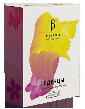 Леденцы Beautelle (Бьютель) с коллагеном, коэнзимом Q10, гиалуроновой кислотой