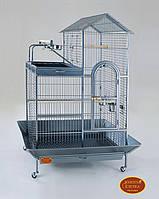 Вольер для средних и крупных попугаев 93(114)х70(91)х160 см
