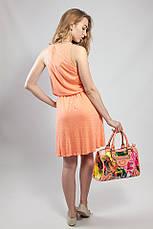 Платье женское летнее на бретелях сарафан яркое  Massimo Dutti, фото 3