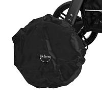 Чехлы на колёса коляски, чёрные, Baby Breeze, 0336 608