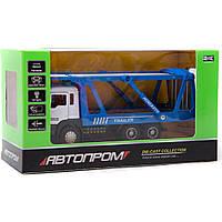 "Машина металл 50010 ""АВТОПРОМ"",батар.,свет,звук,откр.двери,в коробке 22*12,5*9см"