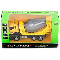 "Машина металл 5004 ""АВТОПРОМ"",батар.,свет,звук,откр.двери,в коробке 22*12,5*9см"