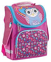 """Рюкзак школьный каркасный Cute Owl 553330, ТМ """"Smart"""""""