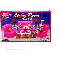 """Мебель """"Gloria"""" 9704 для гостинной, журн.столик,..., в коробке 31*20*8см"""