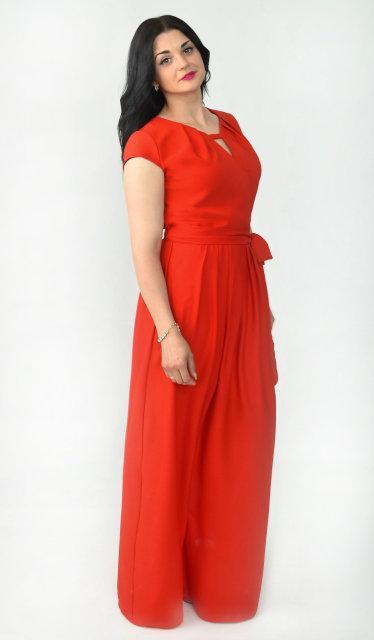 Длинное платье размер 50
