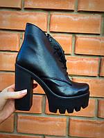 Демисезонные ботинки Rit из натуральной кожи на Итальянской байке