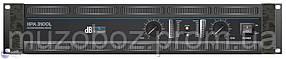 DB Technologies HPA 3100 усилитель мощности 2 x 1700 Вт, 2 Ом