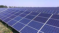 На Днепропетровщине начали строить солнечную электростанцию 10 М Вт