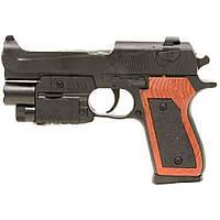Пистолет P2117-G+ с пульками, лазер,свет кул. H130503727