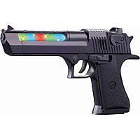 Пистолет батар. WEX-C3 свет,звук,в пакете 14*16