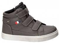Детские польские демисезонные ботинки American club р.32,33,34,35,36 мальчикам с кожаной ортопед стелькой