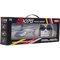 Р.У.Вертолет Syma S107G с гироскопом,аккум.метал.свет USB 2цв.кор.48,5*18,5*9