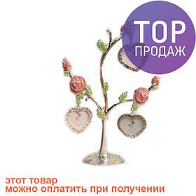 """Рамка """"Розы"""" для 3 фото 4х4 см, 15х22 см / Фоторамка семейное дерево"""