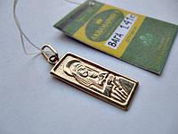 Золото 585 пробы ЛАДАНКА иконка БОГОРОДИЦА -1.41 грамма., фото 1