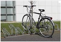 Велопарковка на 10 мест