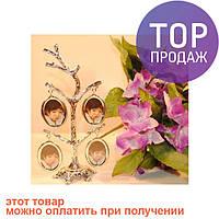 """Фоторамка """"Семейное, родовое дерево"""" на 4 фото / Фоторамка семейное дерево"""
