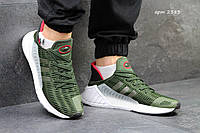 Мужские кроссовки Adidas ClimaCool Adv 2017, зеленые / кроссовки мужские Адидас Климакул Адв 2017, удобные