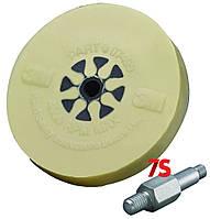 Пресованный круг для удаления скотча, клейких лент со шпинделем 6 мм - 3M 07498