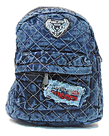 Женский джинсовый маленький рюкзак NNM-800717, фото 1