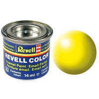 Аксессуары для сборных моделей Revell Краска светящаяся желтая шелковисто-матовая 14ml (32312)