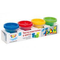 Набор для творчества GENIO KIDS Тесто для лепки 4 цвета (TA1008V)