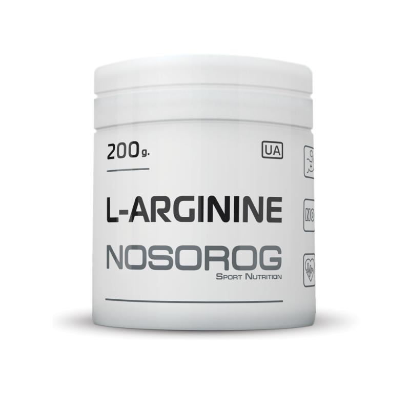 Аргинин Nosorog L-Arginine 200 g - Спортивный интернет-магазин - ExFit.com.ua в Харькове