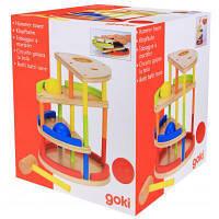 Развивающая игрушка Goki Трекбол с молотком (53901)