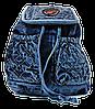 Рюкзак женский джинсовый маленький NNM-800889
