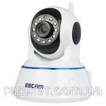 Поворотная IP-камера ночного видения ESCAM QF002. P2P, WIFI. Android/ IOS., фото 3