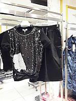 Костюм женский летний Lmoon Турция футболка+юбка