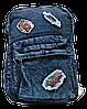 Стильный женский джинсовый рюкзак YIN-757787