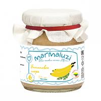 Пюре Банановое с 6 месяцев 125 г Marmaluzi 1283120