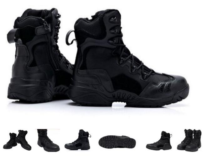 Черные тактические ботинки берцы Magnum Spyder 8.1 оригинал азиатская версия