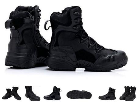 Черные тактические ботинки берцы Magnum Spyder 8.1 оригинал азиатская версия, фото 2
