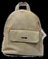 Женский рюкзак песочного цвета из экокожи LFD-950054, фото 1