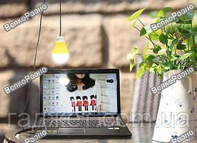 USB лампа 5Вт желтого цвета., фото 3