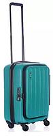 Пластиковый малый чемодан, 4-колесный 36л (41 л.) HATCH/Caribbean Gree Lojel Lj-CF1398S_GRN, зеленый
