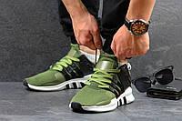 Кроссовки adidas equipment темно зеленые с черным