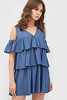 Літнє вільне джинсове плаття-міні Nivem