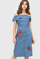 Жіноче джинсове плаття-міді (стрейчеве) Orin