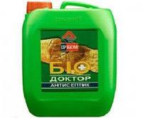 Грунтовка антисептическая ІРКОМ БІОДОКТОР ІР-011 для древесины, 10л