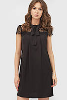 Жіноче коктейльне чорне плаття Stron