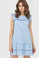 Літнє повсякденне голубе плаття Nika