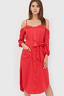 Вільне повсякденне червоне плаття Riko