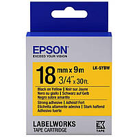 Лента для принтера этикеток EPSON LK5YBP (C53S655003)