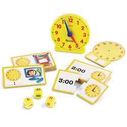 """Игровой набор """"Изучаем время"""" от Learning Resources"""